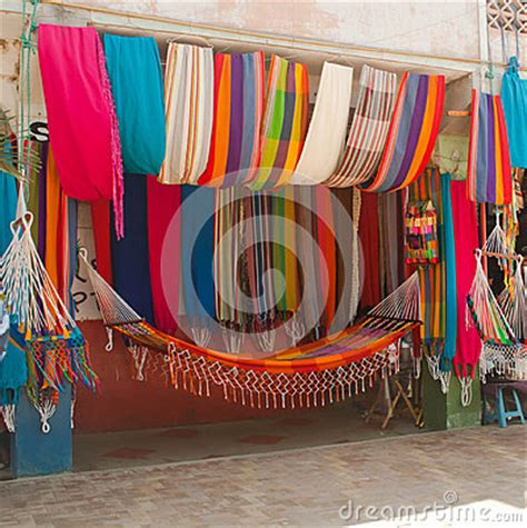 Colorful Hammocks For Sale Colorful Hammocks 3 Stock Photo Image 30696630