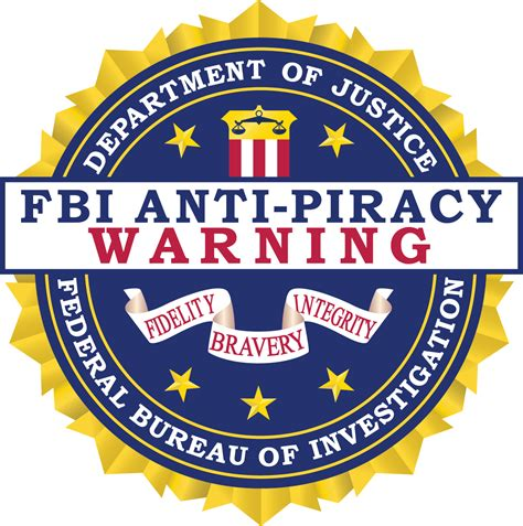 Fbi Search Fbi Anti Piracy Warning Seal Fbi