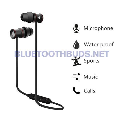 Bluetooh Earphone Sport excelvan bth828 v4 1 sport bluetooth earphones sweatproof stereo earphone wireless in ear