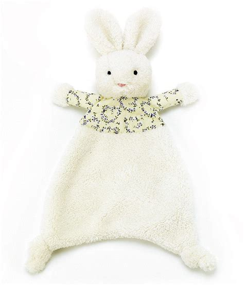 little jellycat comforter jellycat beds4bn bedtime bunny soother with organza pull