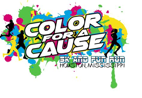 color run houston 2015 quot color for a cause quot 5k and run
