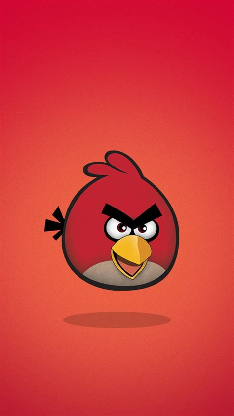 Angry Bird Yellow Iphone 6 7 5 Xiaomi Redmi Note F1s Oppo S6 Vivo angry birds phone wallpaper hd phonewallpapers