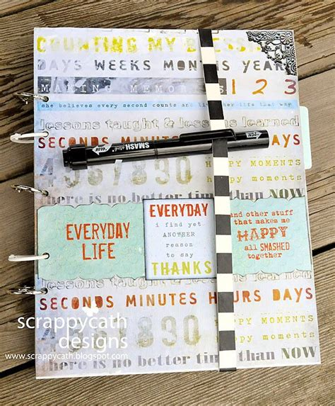 fashion planner journal style blogging never run out of things to about again that never ends books handmade smash book by scrappycath designs scraps of