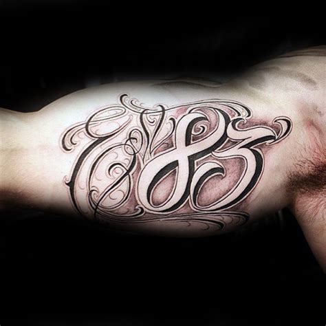 30 est tattoo designs for men birth year ink ideas