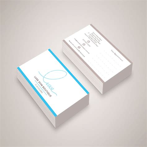 Luxe Business Card Templates by Luxe Business Cards Thelayerfund