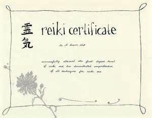 reiki certificate templates reiki certificate templates to studio