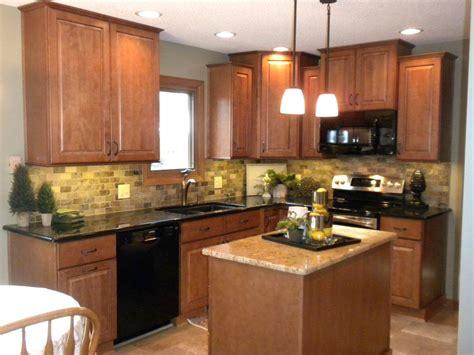 Granite Countertops For Medium Brown Cabinets Savae Org