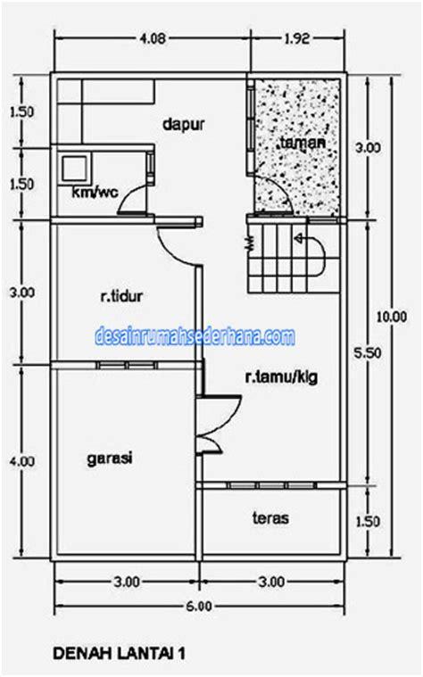 a4 gambar desain rumah sederhaa 2 lantai untuk renovasi kpr type 21