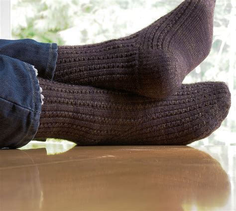 knitting pattern mens socks java the daily skein