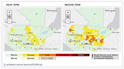 Food Gaps Imminent In Multiple Central American Coffee Regions, FEWS NET Says   Daily Coffee