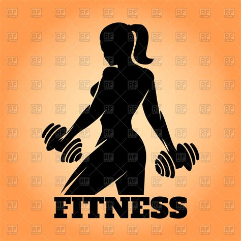imagenes fitness gratis fitness club or gym poster design royalty free vector clip