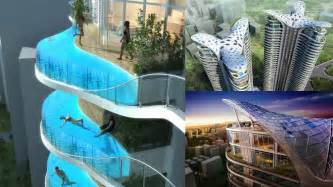 this building s balconies are swimming pools gizmodo