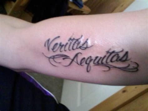 aequitas veritas tattoo veritas aequitas picture at checkoutmyink