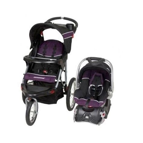 purple and gray stroller and carseat stroller car seat set baby trend expedition jogger