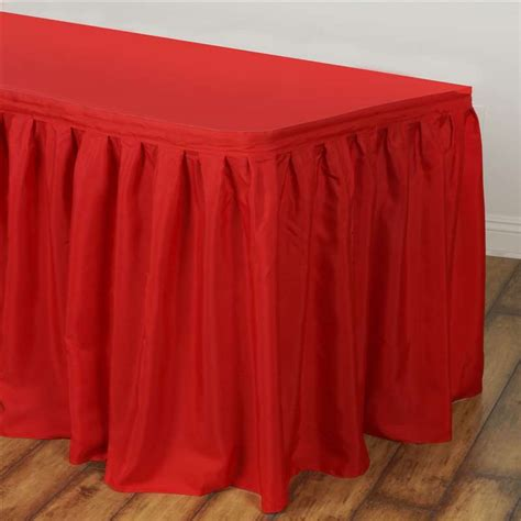 table skirt polyester 17 live n lavish events