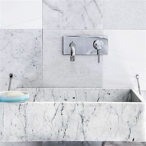 Marble Bathroom Tiles Uk by Marble Tiled Bathroom Basin Bathroom Decorating Ideas Basins Housetohome Co Uk