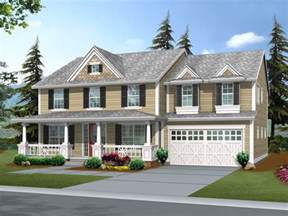 Colonial Front Porch Designs Suson Oak Colonial Home Plan 071d 0148 House Plans And More
