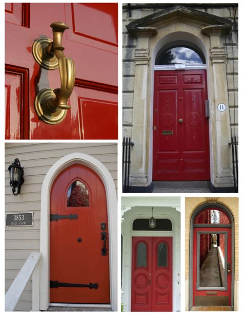red front door and bold house exterior traba homes exterior color inspirations the classic brilliant bold