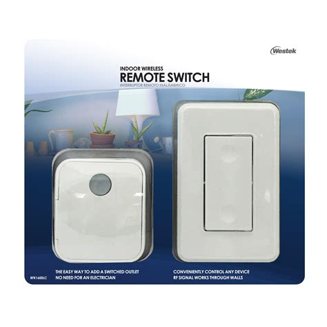 wireless light switch transmitter and receiver westek rfk1600 lc indoor wireless switch 1 outlet
