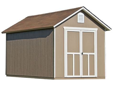 Storage Sheds For Less by Suncast 8x13 Tremont Resin Storage Shed Kit W Floor