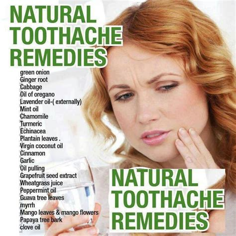 toothache remedies remedies and health