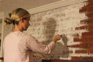 Reclaimed Wood Vs New Wood how to whitewash a brick fireplace erin spain