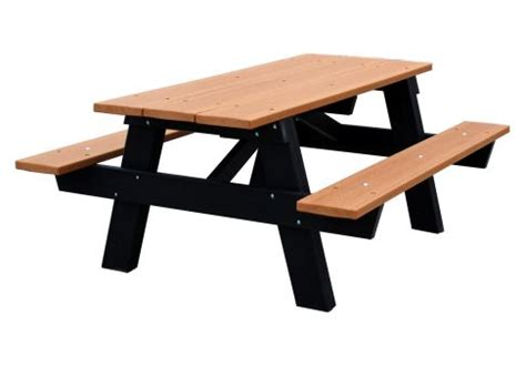 picnic table frames a frame picnic table commercial site furnishings
