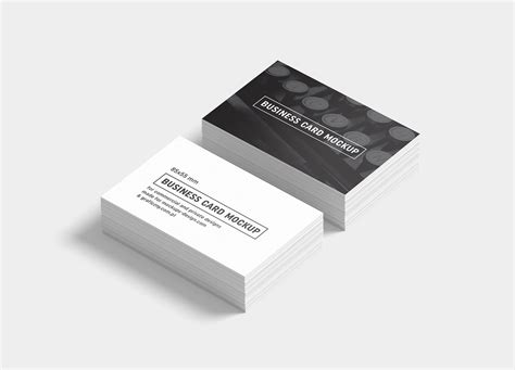 business card template for sketch free black white business card mockup psd templates