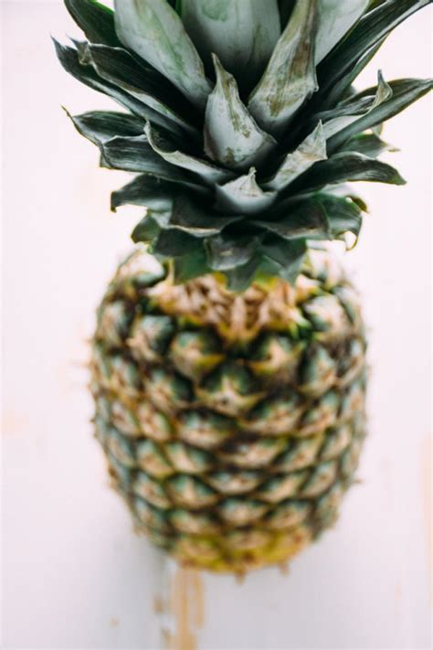 Fresh Pineapple by Fresh Pineapple Margaritas For Two Nyssa S Kitchen