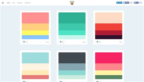 color hunt alternatives and similar software