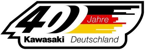 Motorrad Von Usa Nach Deutschland by 40 Jahre Kawasaki Deutschland
