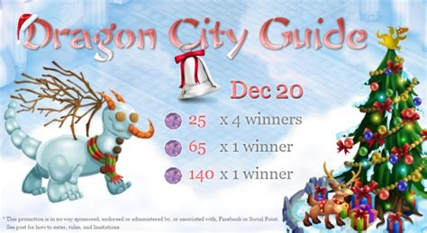 Dragon City Free Gems Giveaway - dec 20 christmas giveaway dragon city guide