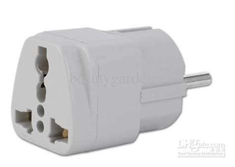Universal Eu 2 Adapter To 3 Pin Stop Kontak 2015 new universal au uk us to eu ac power socket charger adapter converter a142