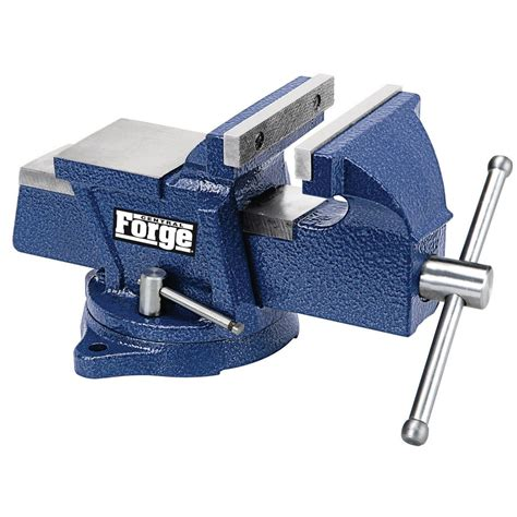 4 In Swivel Vise With Anvil