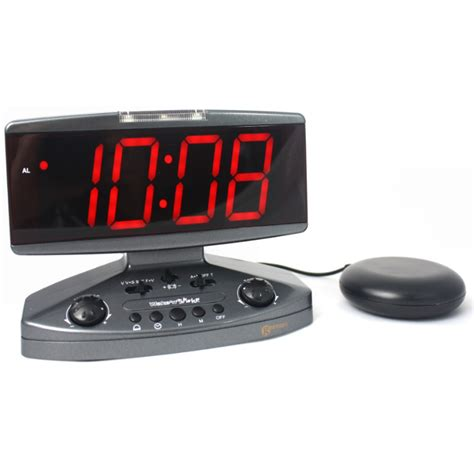 Alarm Clock Pillow Shaker geemarc n shake alarm clock with pillow shaker