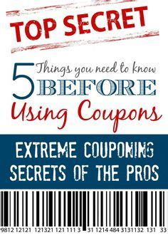 couponing for beginners on pinterest extreme couponing