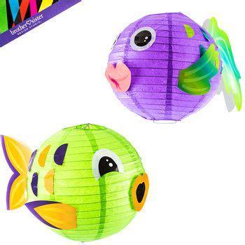 How To Make Paper Lantern Fish - best 25 fish lanterns ideas on diy underwater