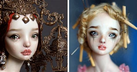 porcelain doll fixer creepily realistic nsfw porcelain dolls by russian artist
