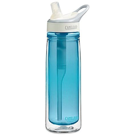 aqua water bottle camelbak 174 groove 174 insulated 20 ounce water bottle in aqua bed bath beyond