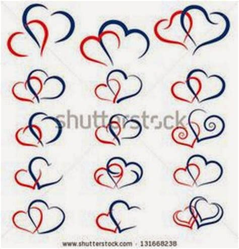 small double heart tattoo tattoos idea part 1 designs picture gallery