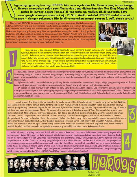 layout majalah download layout majalah sekolah by effieherdi on deviantart