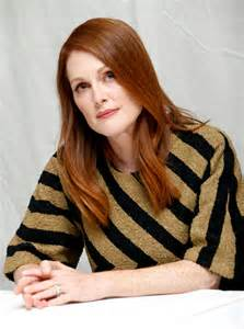 Julianne Moore by Julianne Moore At Freeheld Press Conference At 2015 Tiff