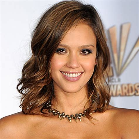 shoulder grazing hair jessica alba hircut from the back long hairstyles