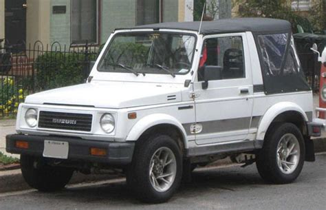 suzuki samurai 1986 1988 service repair manual pdf suzuki samurai sidekick 1986 1996 service repair manual download