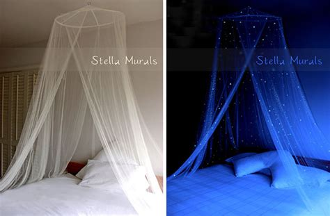 Bed Canopy Glow In The 20 Space Themed Interior Design Ideas That Bring The