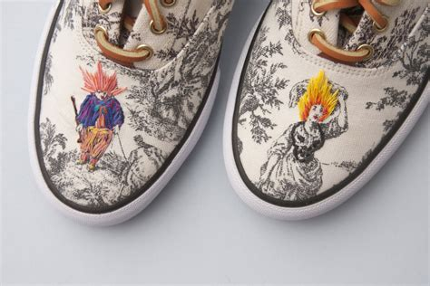 Kets Shoes Iii richard saja revitalises traditional toile with