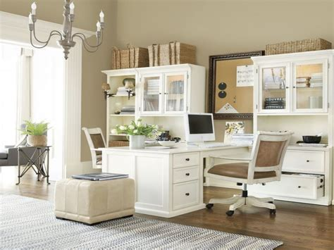two person home office furniture dual office desks ballard designs home office furniture
