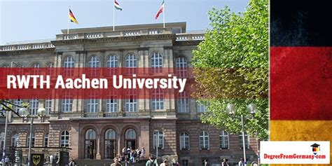 Technical Mba In Germany by Rwth Aachen