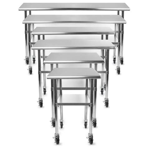 Kitchen Table With Wheels 17 Best Ideas About Stainless Steel Work Table On Grill Table Outdoor Cooking Area