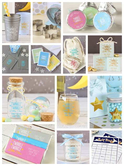 Baby Shower Supplies by Twinkle Twinkle Baby Shower Planning Ideas Supplies Partyideapros